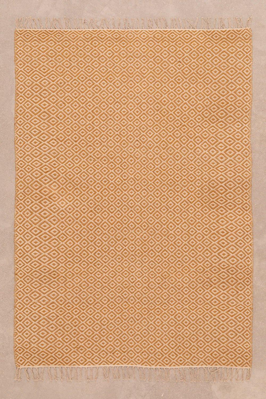 Tappeto in cotone e juta (177x122 cm) Durat, immagine della galleria 1