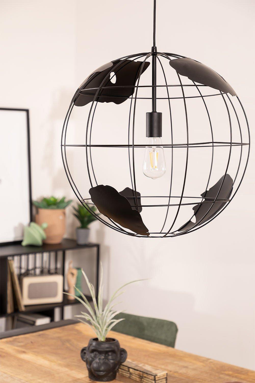 Lampada da soffitto in metallo Mundi, immagine della galleria 1