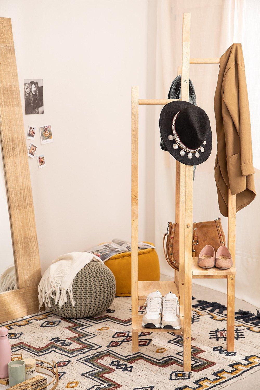 Appendiabiti in legno Arkitec , immagine della galleria 1