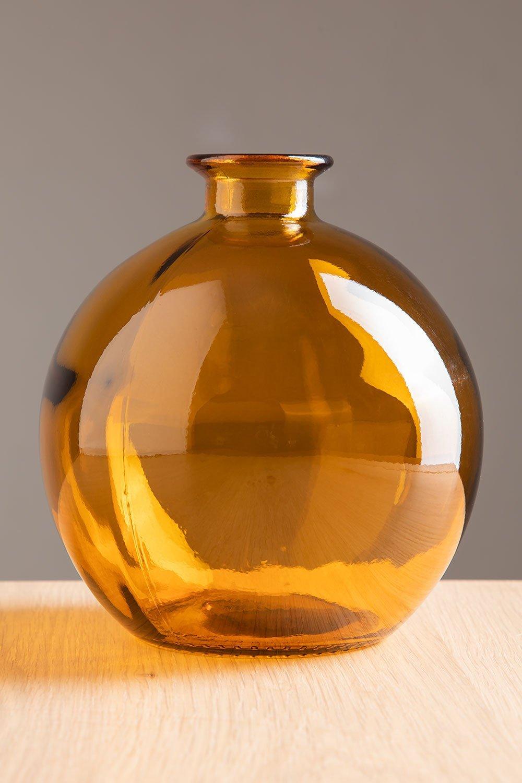 Vaso in vetro riciclato Kimma, immagine della galleria 1