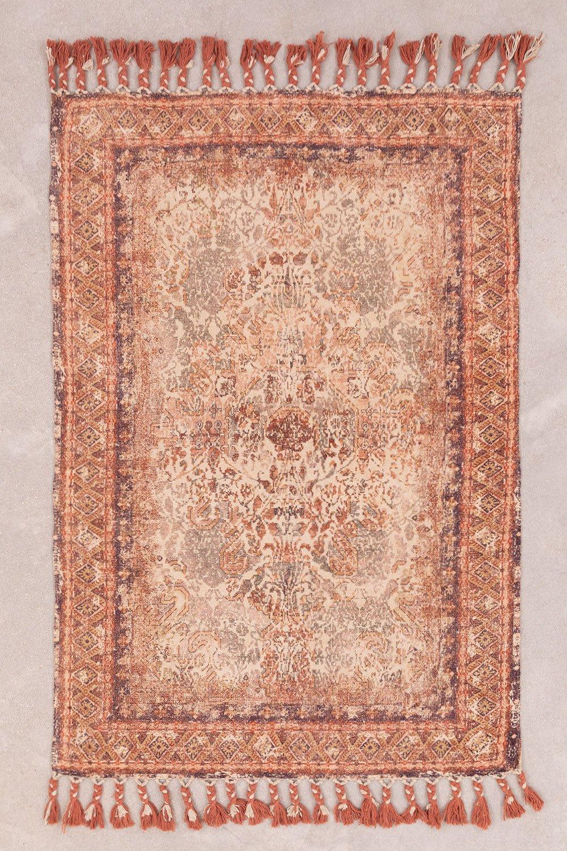 Tappeto in ciniglia di cotone (185x125 cm) Eva, immagine della galleria 1