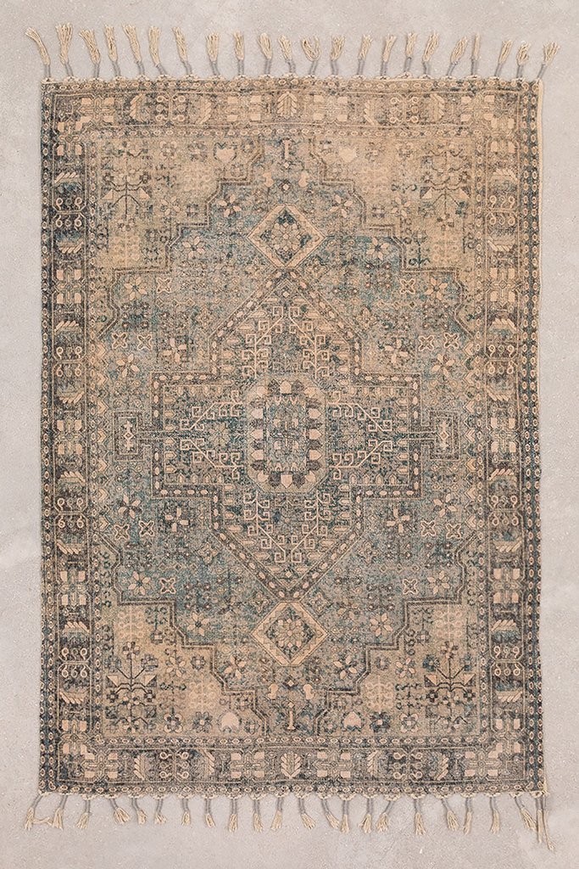 Tappeto in ciniglia di cotone (185x127 cm) Eli, immagine della galleria 1