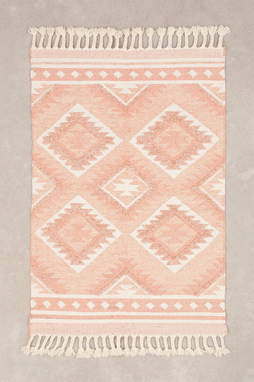 Tappeto in lana e cotone (211x143 cm) Roiz, immagine della galleria 1