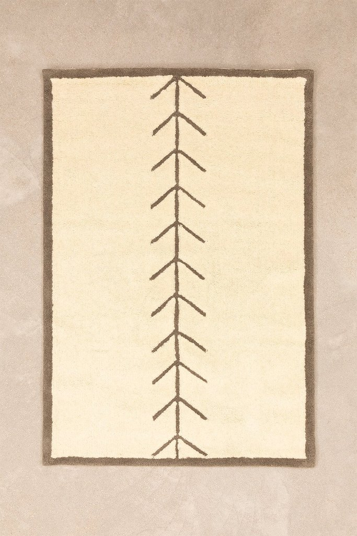 Alfombra de Lana (175x120 cm) Traxia, immagine della galleria 1