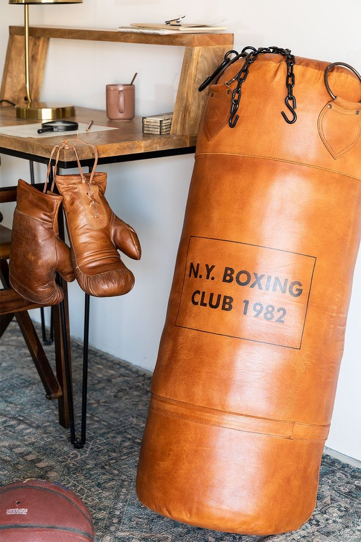 Sacco da boxe in pelle Valu, immagine della galleria 1