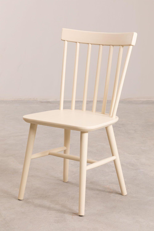 Sedia da pranzo in legno Shor Colors, immagine della galleria 1