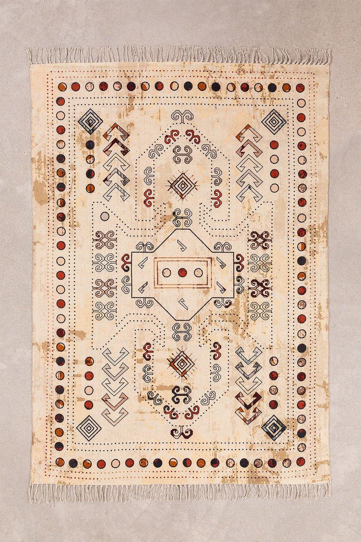 Tappeto in cotone (177x126 cm) Kondu, immagine della galleria 1