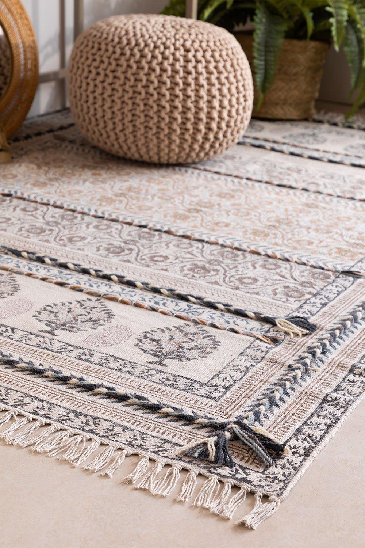 Tappeto in cotone (181x126 cm) Alain, immagine della galleria 1