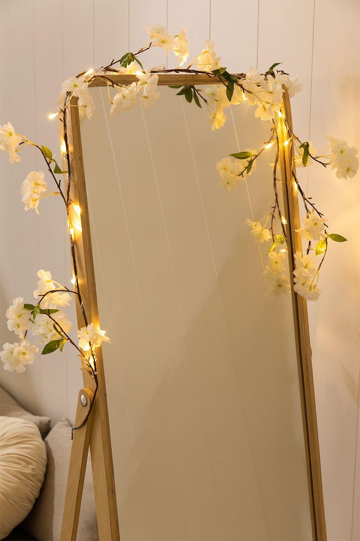 Ghirlanda decorativa LED (1,80 m) Flory, immagine della galleria 1