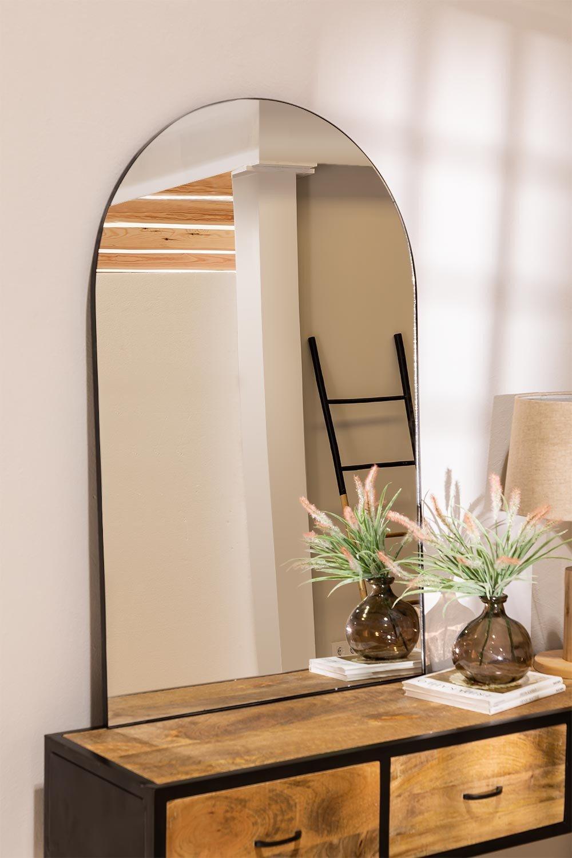 Specchio da parete in metallo (120x77 cm) Ingrid, immagine della galleria 1