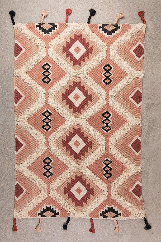 Tappeto in cotone (210x121,5 cm) Yude, immagine della galleria 1