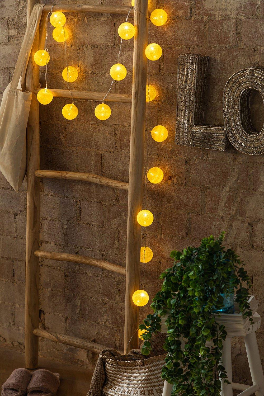 Ghirlanda di luci LED Lime (3,32 m) Adda, immagine della galleria 1
