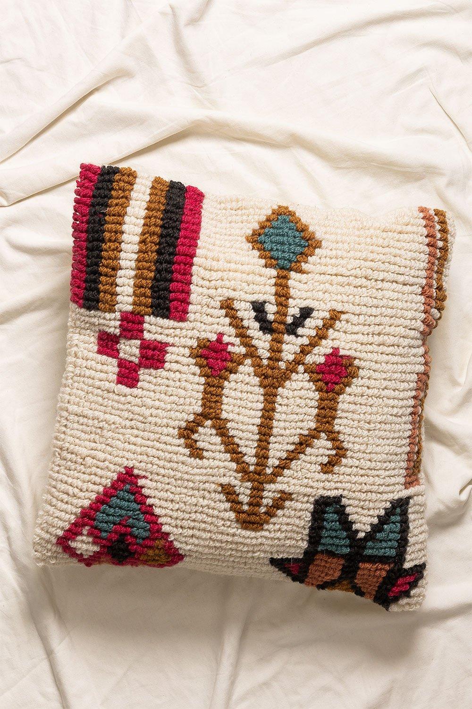 Federa cuscino quadrato in cotone (50x50 cm)Arbe, immagine della galleria 1