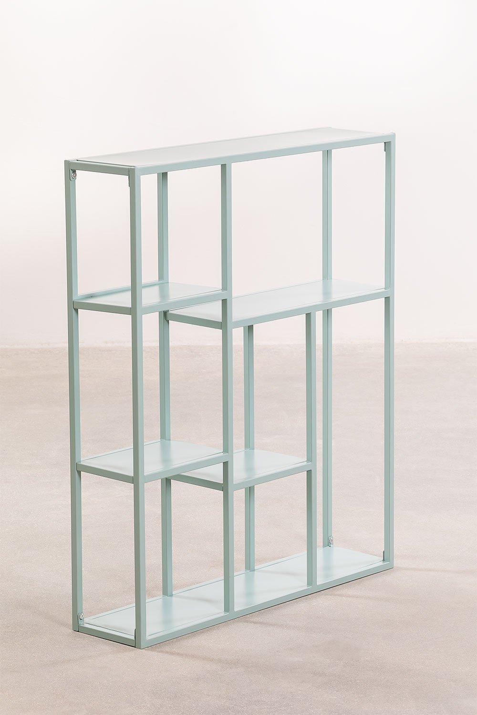 Scaffale modulare a parete in metallo (75 cm) Thura, immagine della galleria 1