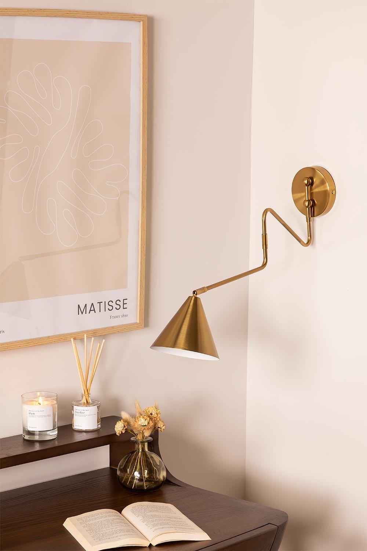 Lampada da parete Fleka Gold, immagine della galleria 1
