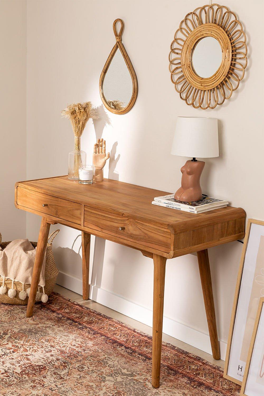 Consolle in legno di teak Menfis, immagine della galleria 1