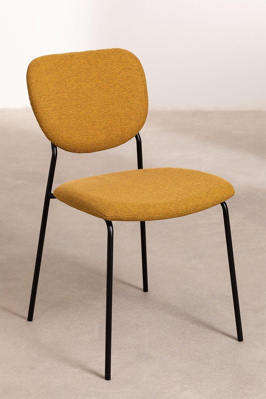 Sedia da pranzo Taris, immagine della galleria 1