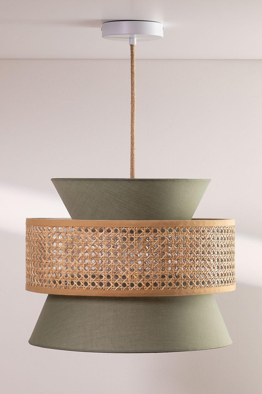 Lampada da Soffitto in Rattan Yereh, immagine della galleria 1