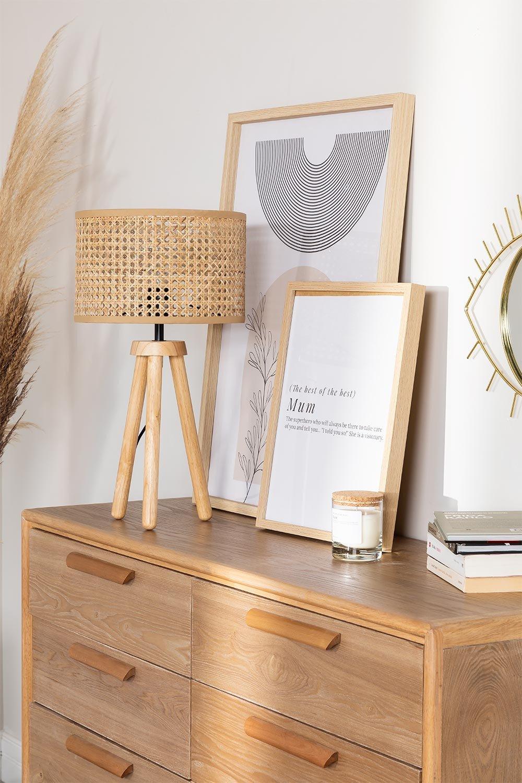 Lampada da tavolo Serri, immagine della galleria 1