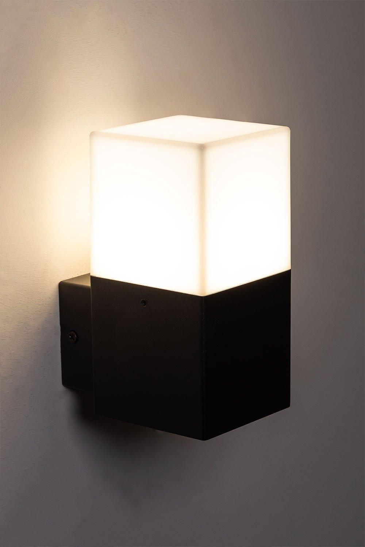 Lampada da parete a led per esterni Ysta, immagine della galleria 1