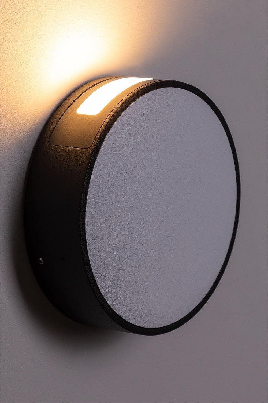 Lampada da parete per esterni Edhä Led, immagine della galleria 1