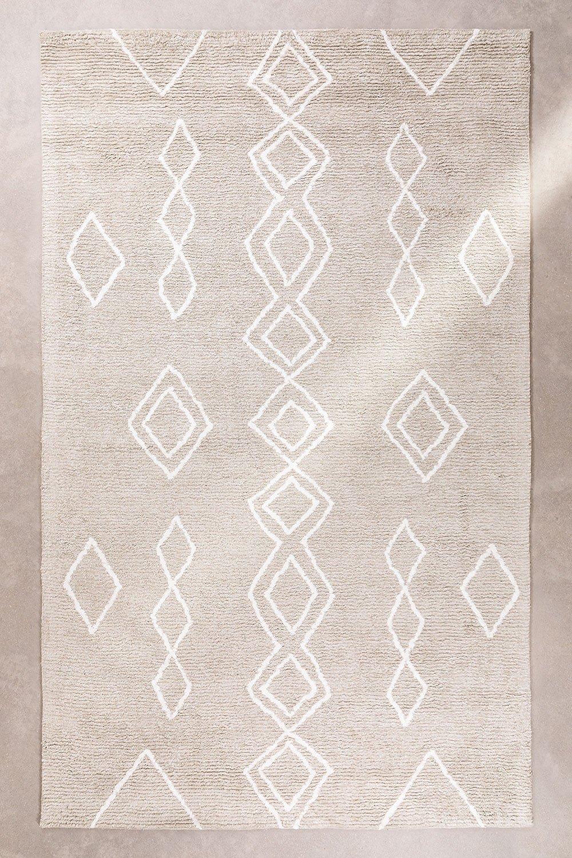 Tappeto in cotone (302x185 cm) Kirvi, immagine della galleria 1