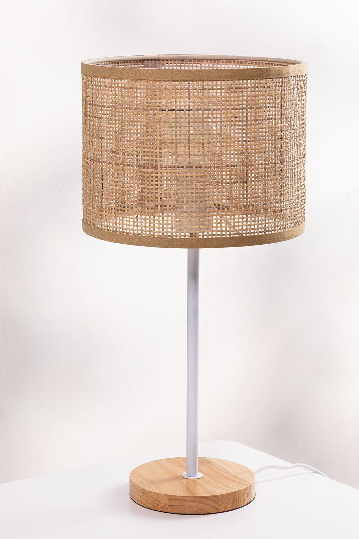 Lampada da Tavolo in Rattan Ytse , immagine della galleria 1