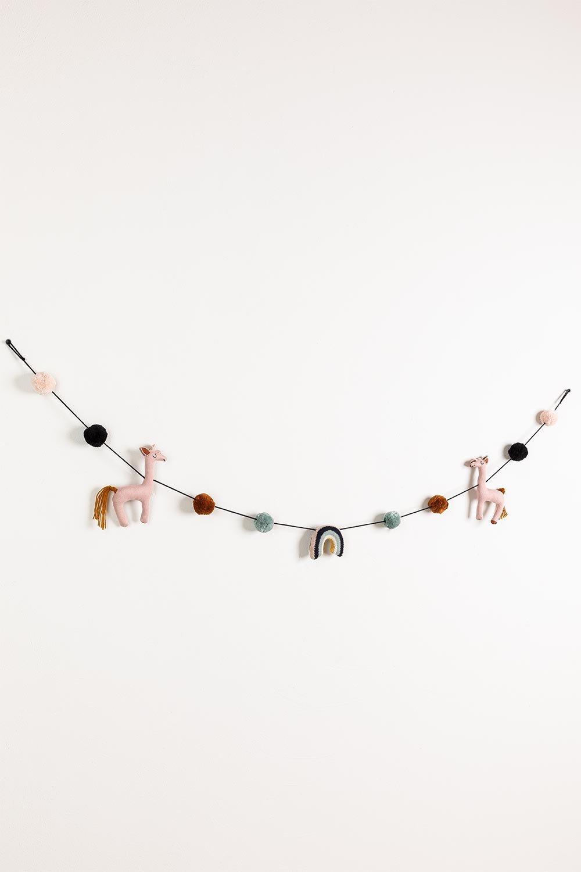 Ghirlanda decorativa Nef Kids, immagine della galleria 1