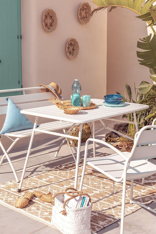 Tavolo Pieghevole per esterni in acciaio Janti, immagine della galleria 1