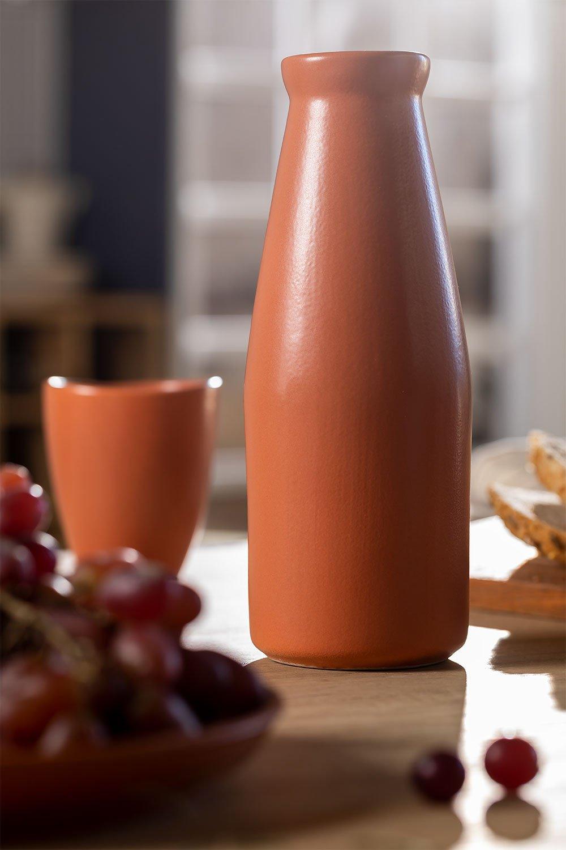 Bottiglia 650 ml in Ceramica Diav , immagine della galleria 1