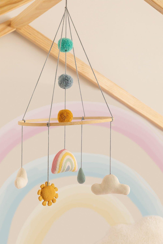 Giostrina per culla in cotone Izaro Kids , immagine della galleria 1