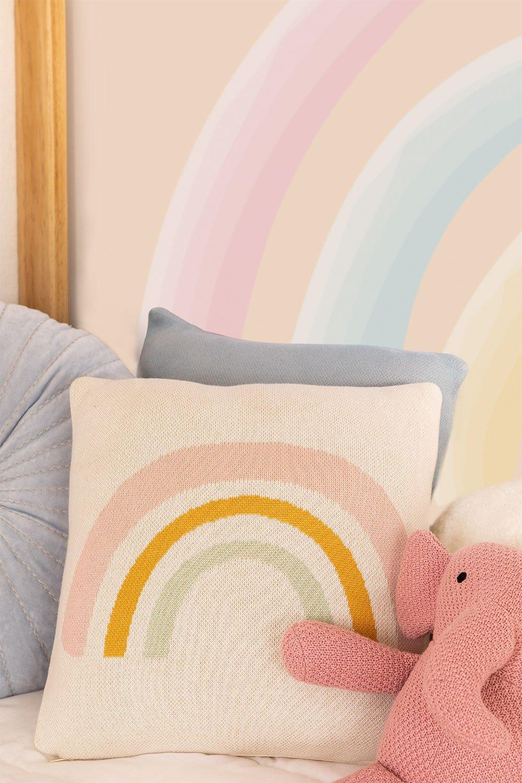 Cuscino quadrato in cotone (34 x 34 cm) Nami Kids, immagine della galleria 1