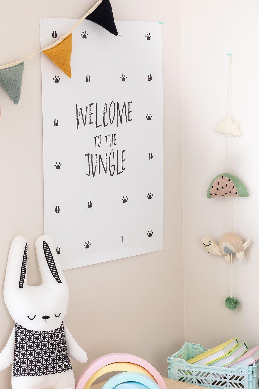 Poster decorativo (50x70 cm) Jungle Kids, immagine della galleria 1