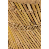 Ronde Bamboe Bijzettafel (Ø34cm) Ganon, miniatuur afbeelding 4