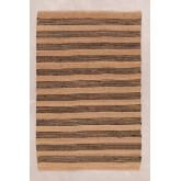 Natuurlijk jute vloerkleed (251x162 cm) Seil, miniatuur afbeelding 1