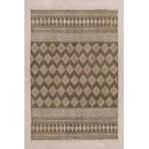 Katoenen vloerkleed (244x164,5 cm) Bluf, miniatuur afbeelding 2