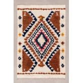 Vloerkleed van wol en katoen (246x165 cm) Rimbel, miniatuur afbeelding 1