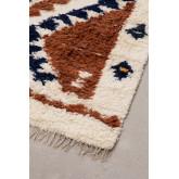 Vloerkleed van wol en katoen (246x165 cm) Rimbel, miniatuur afbeelding 3