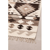 Vloerkleed van wol en katoen (252x165 cm) Logot, miniatuur afbeelding 3