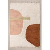 Katoenen vloerkleed (206x130 cm) Delta, miniatuur afbeelding 1