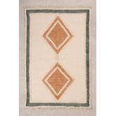 Katoenen vloerkleed (185x122 cm) Derum, miniatuur afbeelding 1