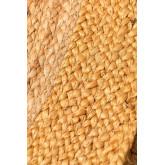 Rond naturel jute vloerkleed Dagna Colors, miniatuur afbeelding 3