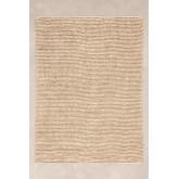 Jute en wollen vloerkleed (228x165 cm) Prixet, miniatuur afbeelding 1