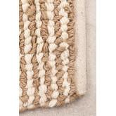 Jute en wollen vloerkleed (228x165 cm) Prixet, miniatuur afbeelding 2