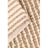 Jute en wollen vloerkleed (228x165 cm) Prixet, miniatuur afbeelding 3