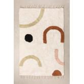 Katoenen vloerkleed (205x130 cm) Ebre, miniatuur afbeelding 1