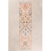 Gangtapijt in jute en stof (170x42,5 cm) Nuada, miniatuur afbeelding 1