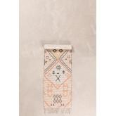 Gangtapijt in jute en stof (170x42,5 cm) Nuada, miniatuur afbeelding 2