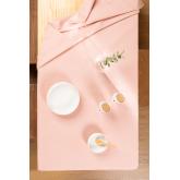 Glad tafelkleed (150 x 200 cm) Malvi , miniatuur afbeelding 1