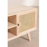 Houten tv-meubel in Ralik-stijl, miniatuur afbeelding 3